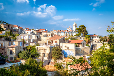 View of Pano Lefkara village in Larnaca district, Cyprus.