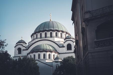 Church of Saint Sava. Belgrade, Serbia.