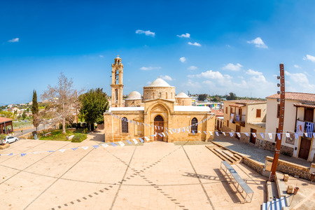 Apostles Varnavas Church. Peristerona village, Cyprus.