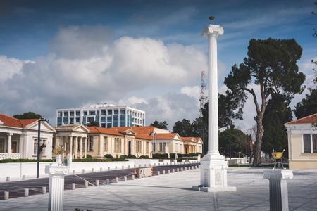28. Oktober Platz. Paphos, Zypern.