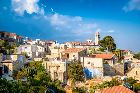 Lefkara. Picturesque mountain village. Larnaca District, Cyprus.