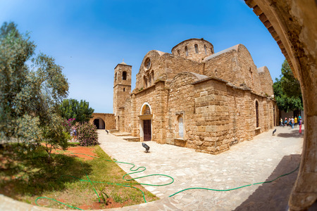 Saint Barnabas Monastery. Famagusta District, Cyprus. Stock Photo
