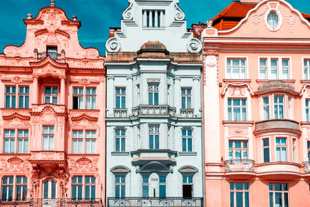 Three baroque buildings