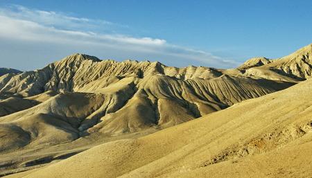 upper: Nepal, Upper Mustang. Tibetan desert. Stock Photo