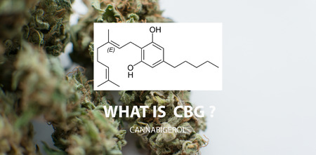 CBG Cannabigerol marijuana elements.