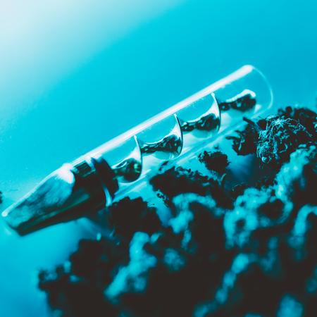 Legalize it. Smoking marijuana concept for publications 版權商用圖片