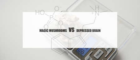 the effect of psilocybin on the mental state of a sick person. Treatment of depression with magic mushrooms