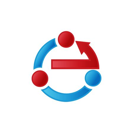 Arrow symbol in modern design for element design. Button arrow symbol wor web or etc. Vector illustration EPS.8 EPS.10