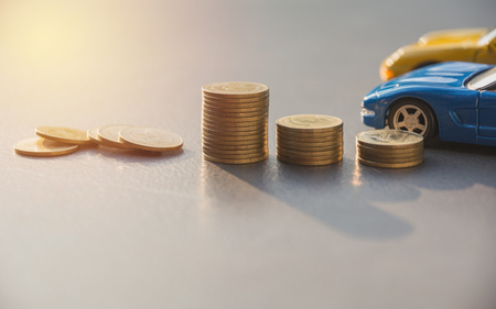 Car insurance and car services concept. Business concept. Car insurance concept. Imagens