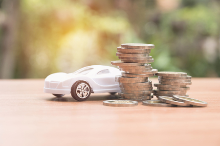 Car insurance and car services concept. Business concept. Car insurance and financial concept.