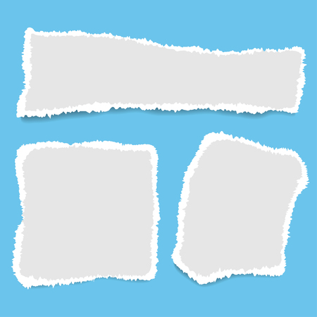 Ripped paper. Vector of ripped paper. the paper was ripped background. Illustration