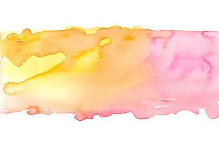 Abstract water colorful painting. Pastel color illustration concept. Stok Fotoğraf