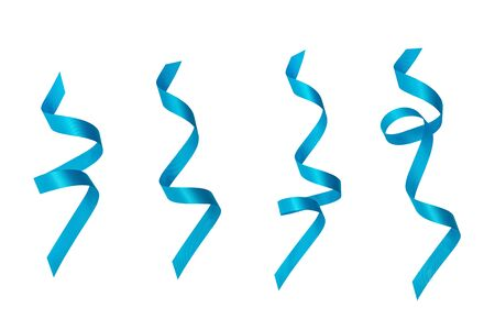 A  ribbons  on a white background   .