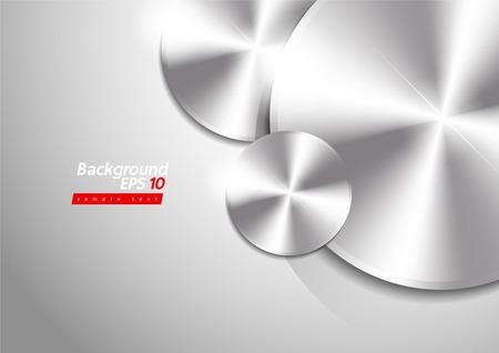 Vector Metallic abstract background metal texture eps10 Stock Vector - 127666225