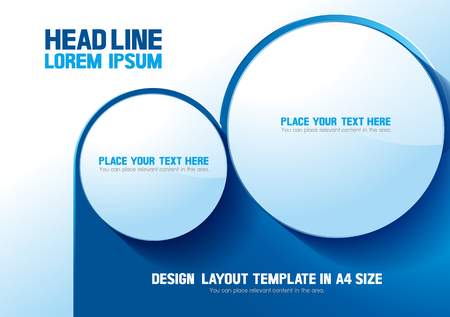 layout design template background. Business Vector illustration. you can place relevant content on the area.