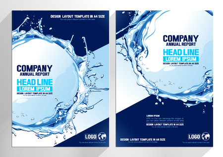 flyer brochure design. layout template background. Business Vector illustration. you can place relevant content on the area.