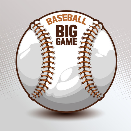 Baseball, hand drawn, drawing image vector illustration.
