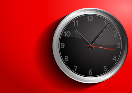 clock vector illustration, you can place relevant content on the area. Illustration