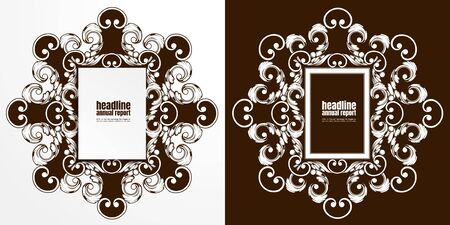 rusted metal texture, paper art abstract background, flyer brochure design, layout template background,  Business Vector illustration, you can place relevant content on the area.