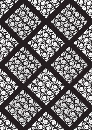 textile fashion, abstract geometric seamless pattern, artwork vector illustration file.  イラスト・ベクター素材