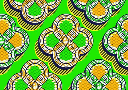 african fashion seamless pattern ornament in vibrant colours, picture art and abstract background for Fabric Print, Scarf, Shawl, Carpet, Kerchief, Handkerchief, Square Pattern Design