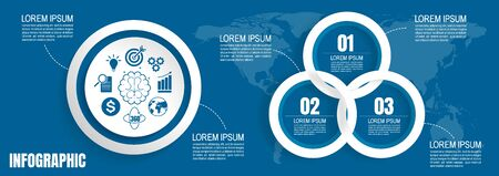 infographic business data, process chart design template for presentation. abstract timeline elements