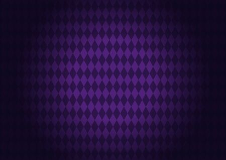 Diamond-shape quadrangle Purple Background, The pattern on the purple floor for greeting card banner, poster,  template, Flyer & brochure
