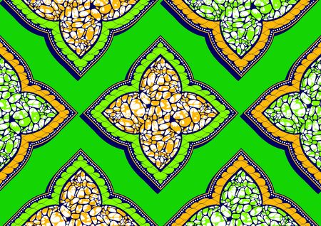 african seamless pattern, picture art and abstract background