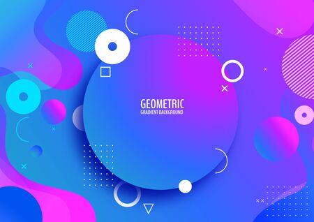 geometric, minimal gradient background