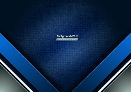Blue Diagonal Line Background, geometric shapes and gradient. Banco de Imagens - 149817928