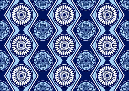 african fashion seamless pattern ornament in vibrant colours, picture art and abstract background for Fabric Print, Scarf, Shawl, Carpet, Handkerchief.