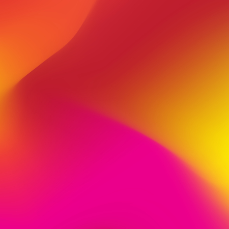Abstract blur gradient background with red, purple, yellow and orange colors for design concepts. Vector illustration.