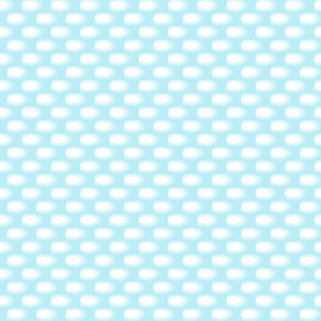 Snow brick wall background. Blue winter cold background. Vector Illustration