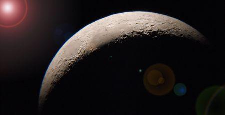 Moon  Stock fotó