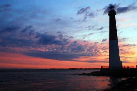 aide: Barnegat Light at Dawn