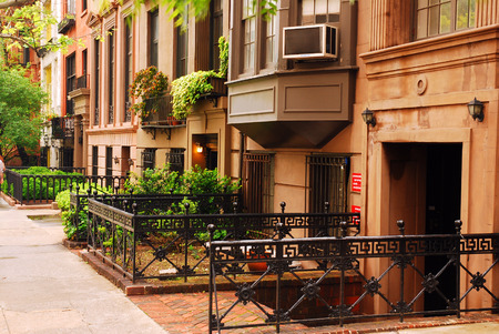 dwell house: Brownstones, Gramarcy Park
