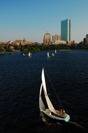 pix: Sailing on the Charles, Boston