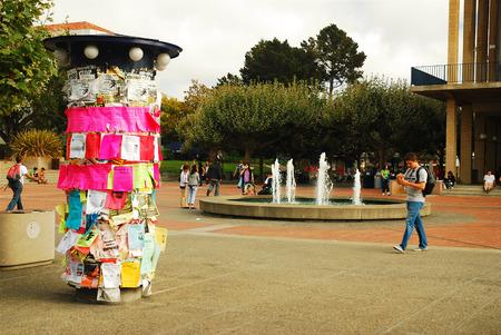 stapled: Student Kiosk, Berkeley