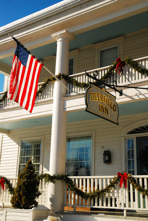 x mass: Deerfield Inn at Christmas