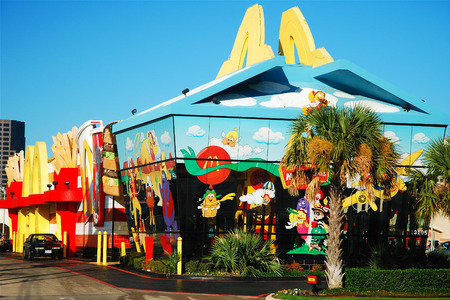 McDonalds as a Happy Meal Box