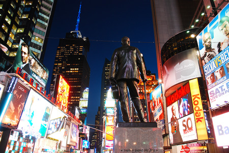 sq: George M Cohan at Times Square