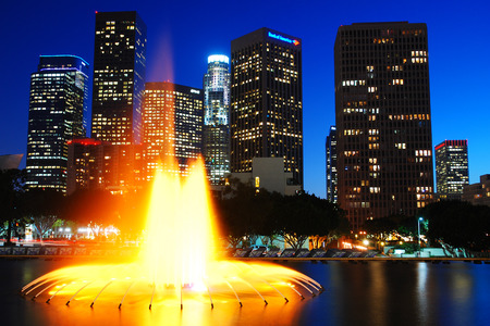nights: Los Angeles Nights Stock Photo