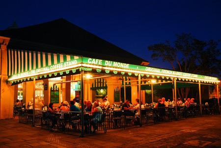 Famous Cafe du Monde, New Orleans