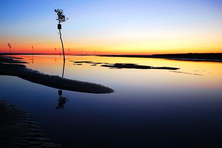 Sunset Orleans Harbor, Cape Cod
