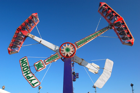 santa cruz: Typhoon Ride, Santa Cruz Boardwalk