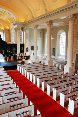 Interior of the Memorial Chapel, Harvard University
