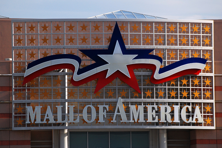 Mall of America, the Largest Shopping Mall in the United States Editorial