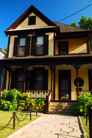 dwell house: The Boyhood Home of Civil Rights Leader Martin Luther King, Atlanta