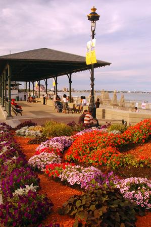 revere: Revere Beach Pavillion, Boston Stock Photo
