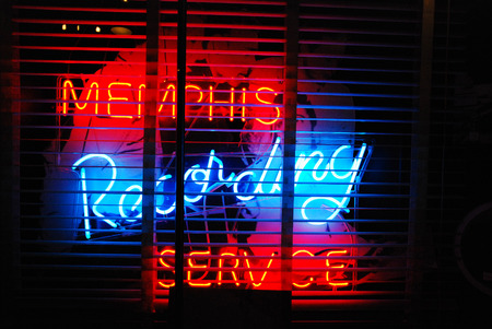 neon lights: Neon Lights of Sun Studios, Memphis